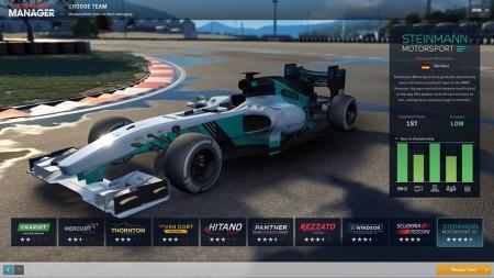 Motorsport Manager: fecha de lanzamiento en PC y requisitos mínimos