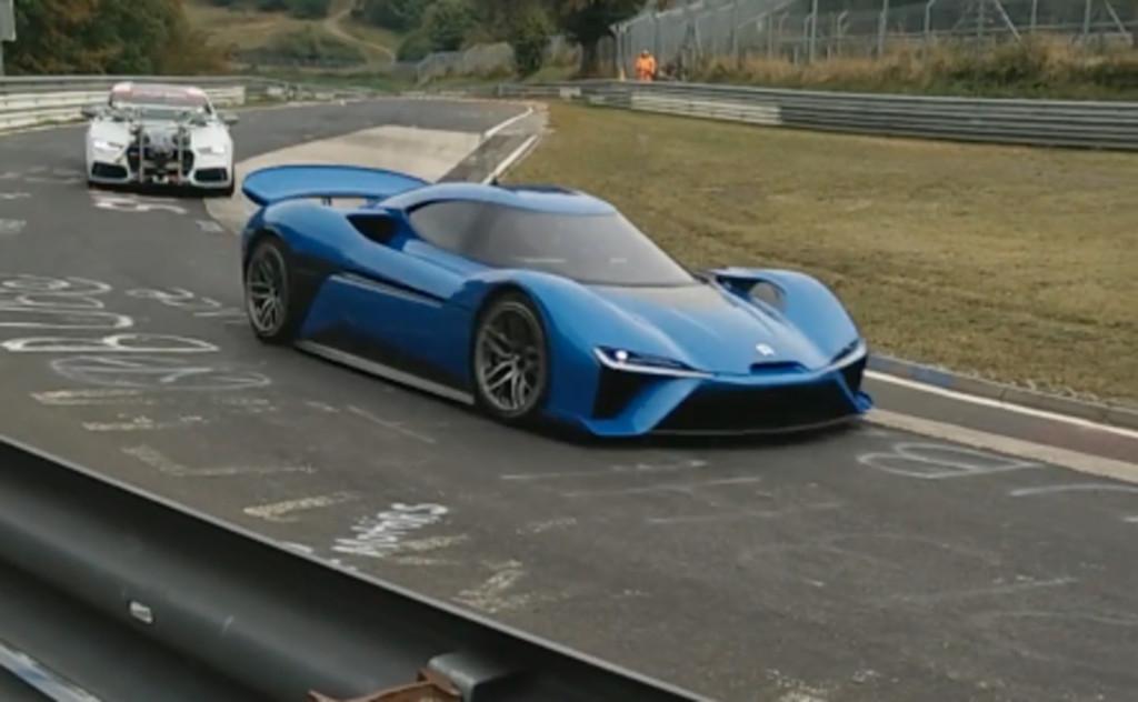 El misterioso NextEV de 1.360 CV es cazado rodando en Nürburgring