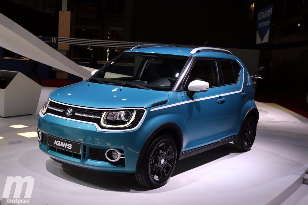 suzuki ignis 2017 el crossover urbano debuta en europa. Black Bedroom Furniture Sets. Home Design Ideas