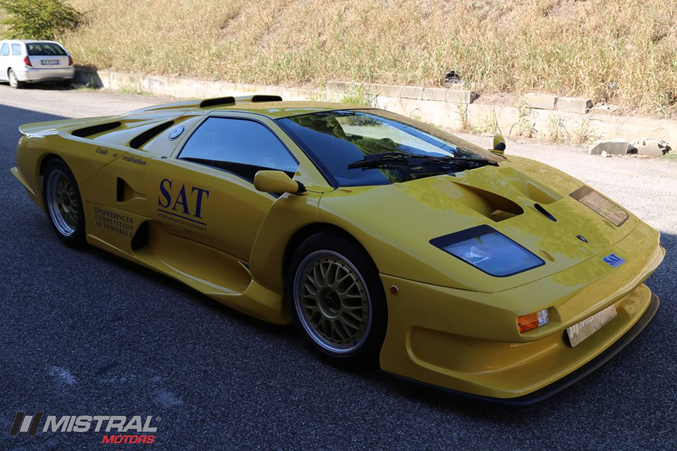 Lamborghini Diablo Gt1 El Diablo De Carbono De 664 Cv Para Solo