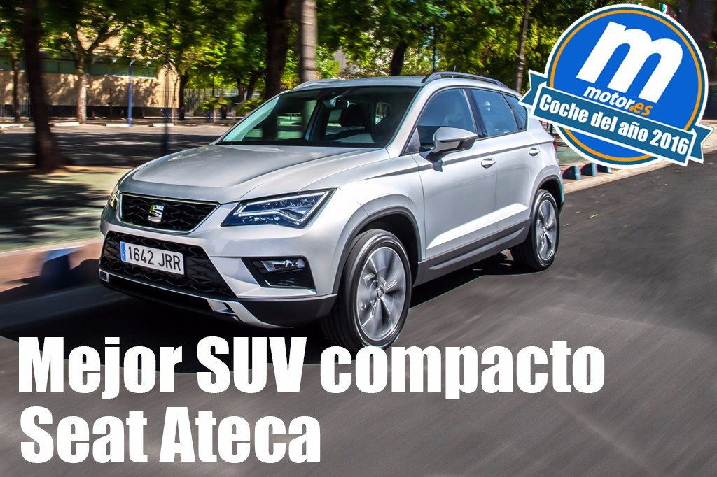 mejor suv compacto 2016 para seat ateca. Black Bedroom Furniture Sets. Home Design Ideas