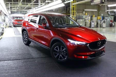 Mazda comienza la producción del nuevo CX-5 en Japón