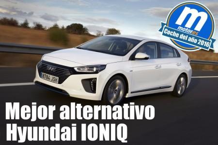 Mejor coche de propulsión alternativa 2016 para Motor.es: Hyundai IONIQ
