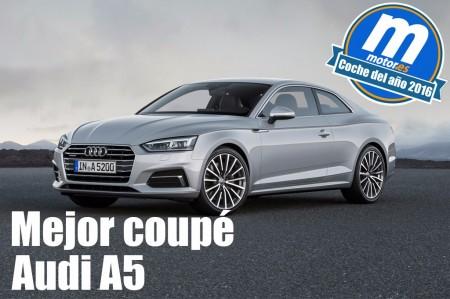 Mejor coupé 2016 para Motor.es: Audi A5