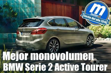 Mejor monovolumen 2016 para Motor.es: BMW Serie 2 Active Tourer