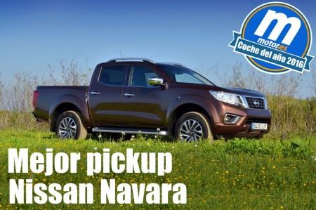 Mejor Pick-Up 2016 para Motor.es: Nissan Navara