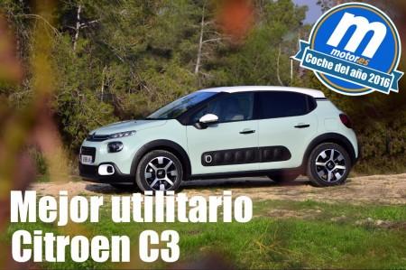 Mejor utilitario 2016 para Motor.es: Citroen C3