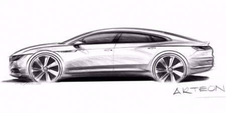 Volkswagen Arteon: la alternativa más deportiva al Passat llegará en 2017