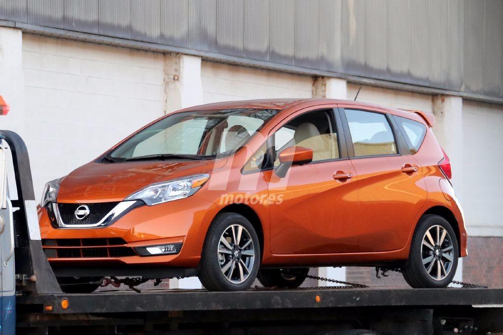Cazado El Nissan Versa Note 2018 Camino De Su Presentaci 243 N