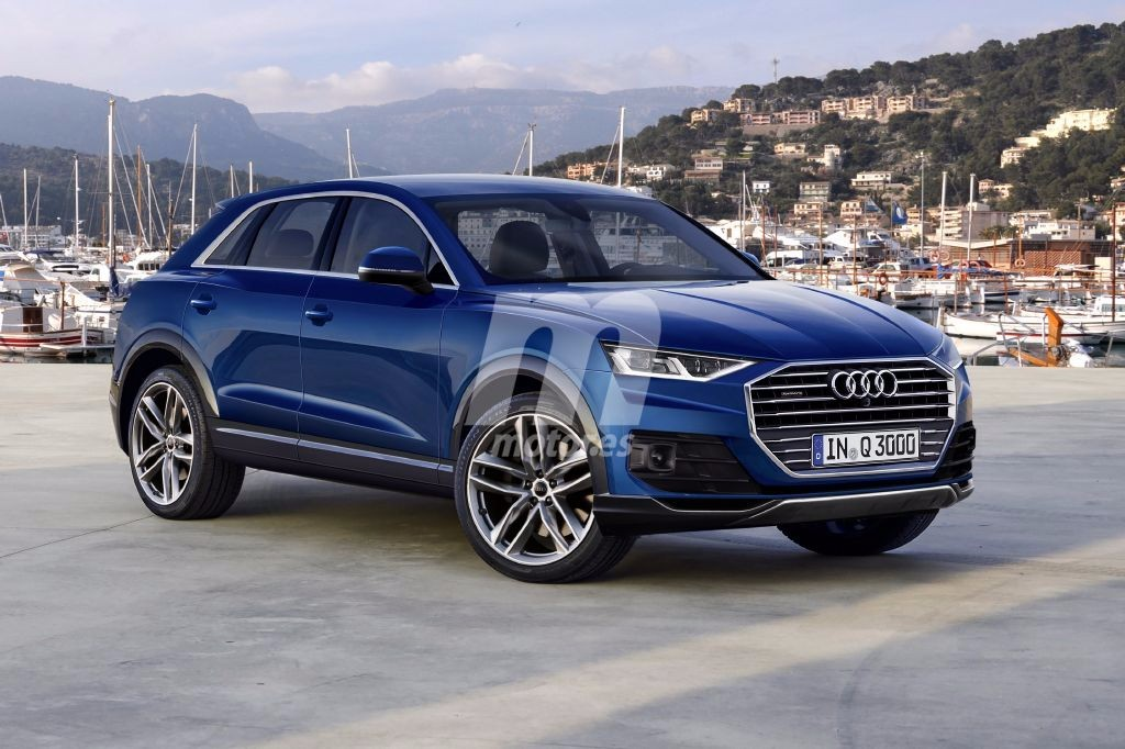 audi q3 anticipando el aspecto de la pr xima generaci n del suv alem n. Black Bedroom Furniture Sets. Home Design Ideas