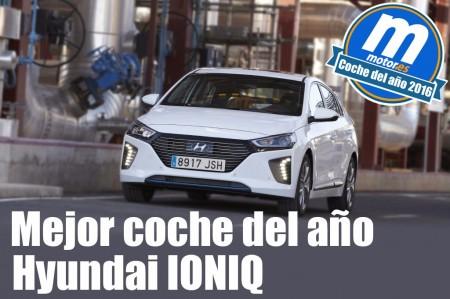 Mejor coche 2016 para Motor.es: Hyundai IONIQ