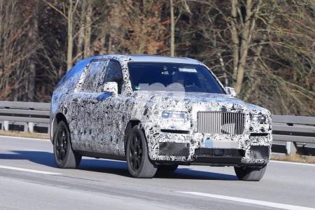 Rolls-Royce Cullinan 2018: el primer prototipo ya circula por carretera