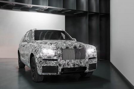 Rolls-Royce Cullinan: continúa el desarrollo del primer SUV de Rolls-Royce
