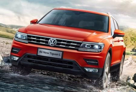 Volkswagen Tiguan L: así es el Tiguan Allspace para el mercado chino
