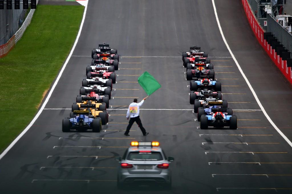 Resultado de imagen de Salidas Grandes Premios F1