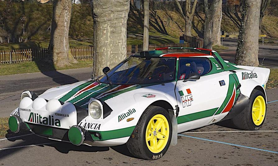 Auténtico Lancia Stratos Group 4 de Rally a subasta en París