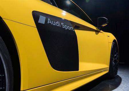 Nuevo proceso de pintura de Audi que permite dar un acabado mate parcial