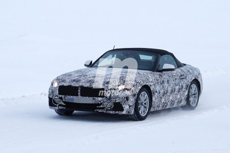 El BMW Z5 Roadster 2018 ya rueda con su nueva carrocería