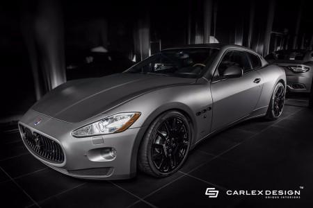 Carlex Design muestra su interpretación del glamour en este Maserati GranTurismo