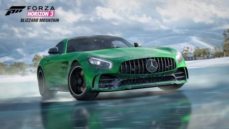 Así es el «baile» del Mercedes-AMG GT R en Forza Horizon 3