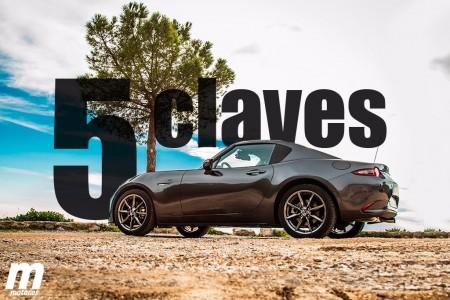 Mazda MX-5 RF 2017: analizamos las claves de la variante con techo duro retráctil