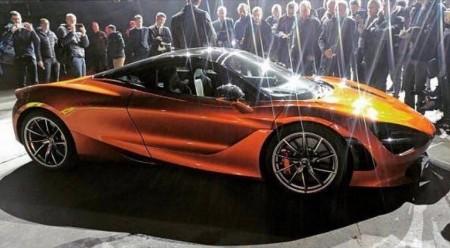McLaren 720S: Filtrado antes de su presentación en Ginebra