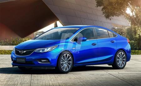 Opel Astra sedán 2017: Así será la nueva berlina alemana
