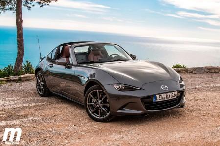 Los precios y equipamiento del nuevo Mazda MX-5 RF en España