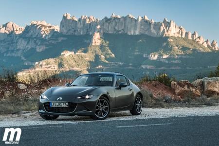 Prueba Mazda MX-5 RF, una solución a la japonesa
