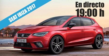 Sigue en directo con nosotros la presentación del nuevo SEAT Ibiza 2017