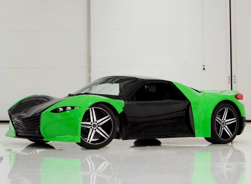 Dubuc Tomahawk, el deportivo eléctrico con 600 Km de autonomía