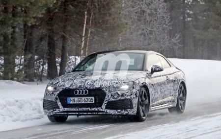 Audi RS5 Coupe: Últimas pruebas antes de su presentación en Ginebra 2017