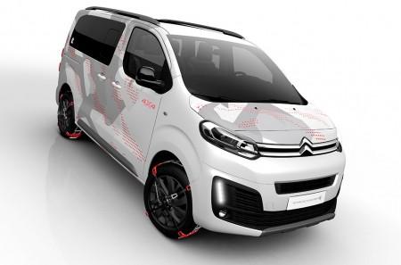Citroën SpaceTourer 4X4 Ë Concept: para disfrutar del ocio al aire libre con estilo