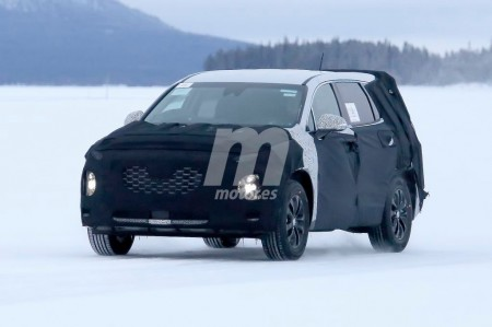 Hyundai Santa Fe 2018: un vistazo a la nueva generación que ya está en desarrollo