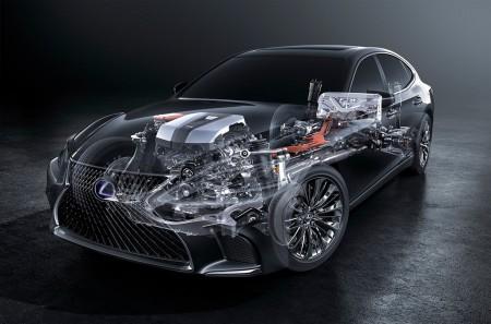 El nuevo Lexus LS 500h usará el sistema Multistage Hybrid
