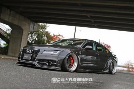El preparador Liberty Walk receta unos esteroides al Audi A7 Sportback