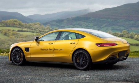 Mercedes-AMG GT4 Concept: la sorpresa de la marca de la estrella para Ginebra