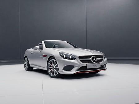 Mercedes SLC RedArt Edition: buscando enfatizar su lado más deportivo