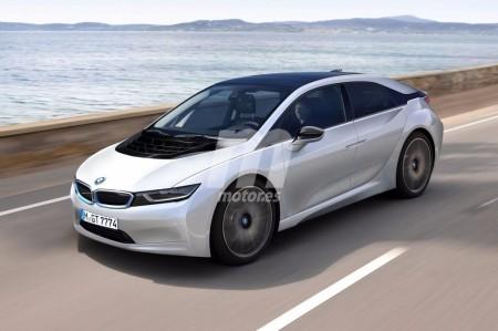BMW i5: nueva recreación del eléctrico alemán