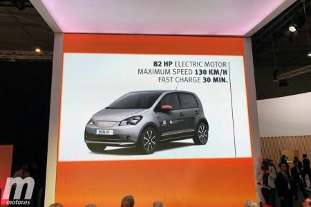 SEAT e-Mii 2017: irrumpe en el Mobile World Congress el coche eléctrico de SEAT