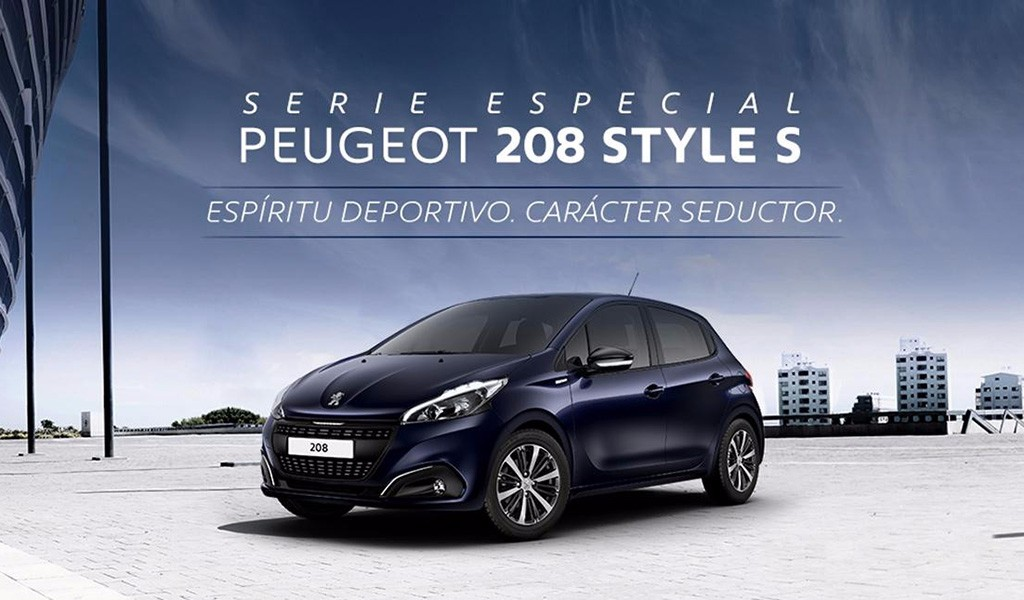 peugeot 208 style s m s equipamiento y aire deportivo en. Black Bedroom Furniture Sets. Home Design Ideas