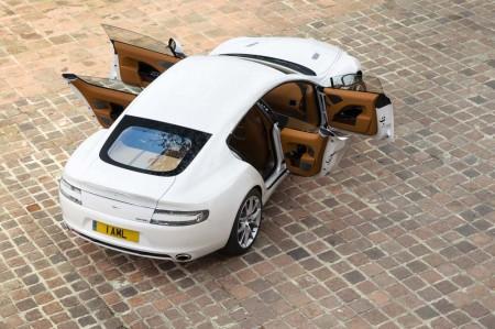 Aston Martin sustituirá el Rapide V12 por su versión eléctrica en 2018