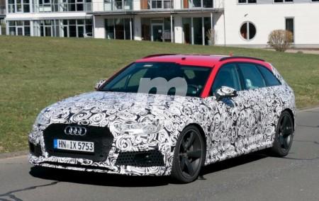 Volvemos a cruzarnos con el renovado Audi RS4 Avant 2018