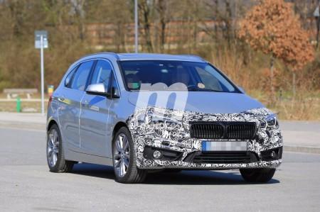 Primeras fotos espías de la renovación del BMW Serie 2 Active Tourer 2018