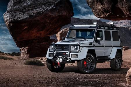 Brabus 550 Adventure 4X4, de Ginebra al fin del mundo