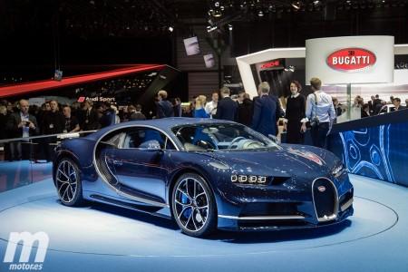 Bugatti se lleva a casa el premio al mejor stand de Ginebra
