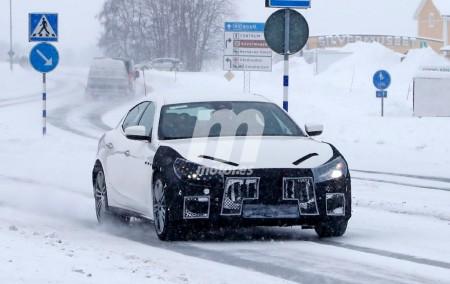 Maserati Ghibli 2018: ya se ven las novedades en las pruebas de calle