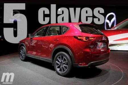 Mazda CX-5 2017: las 5 claves de la nueva generación del SUV japonés