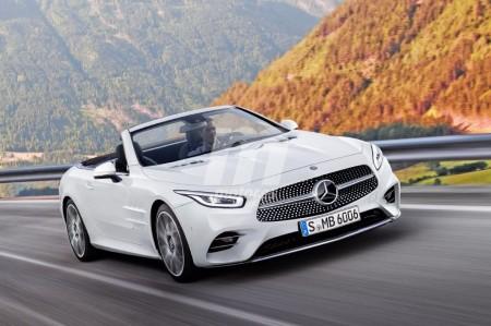 Mercedes SL 2018: vislumbrando la nueva generación del descapotable alemán