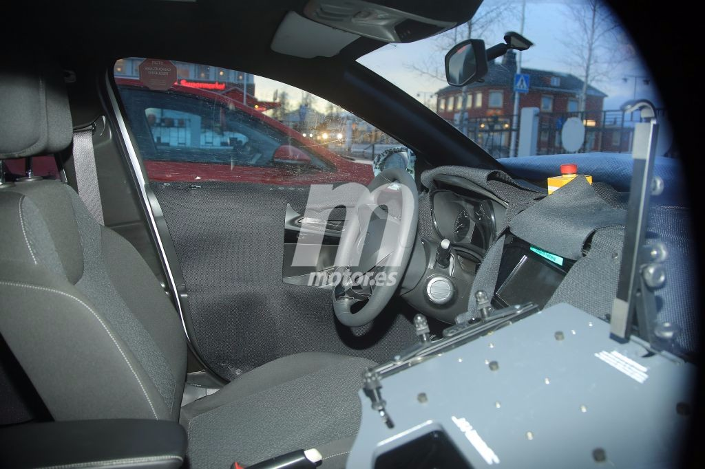 Opel corsa 2020 un vistazo al interior de la pr xima for Interior opel corsa 2017